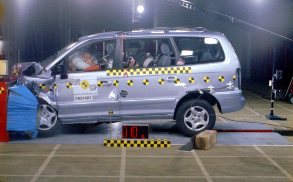 Краш-тест Hyundai Trajet 2.0 200…