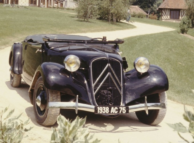 CITROEN Traction Avant 11B Cabrio