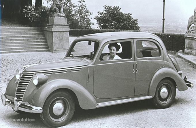 1949 Fiat 1100 E. FIAT 1100 E