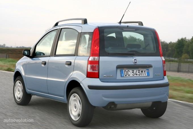 2003 Fiat Panda. FIAT Panda