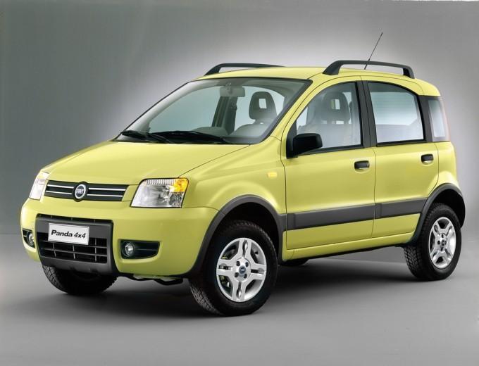 2003 Fiat Panda. FIAT Panda 4X4