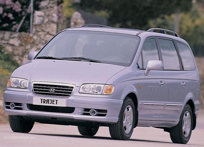 Hyundai Trajet 2000. HYUNDAI Trajet