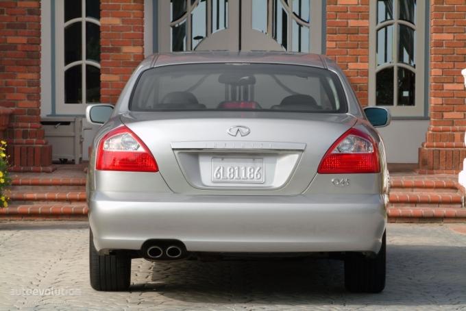 2006 Infiniti Q45. INFINITI Q45