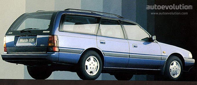 1991 mazda 626 station wagon - partsopen