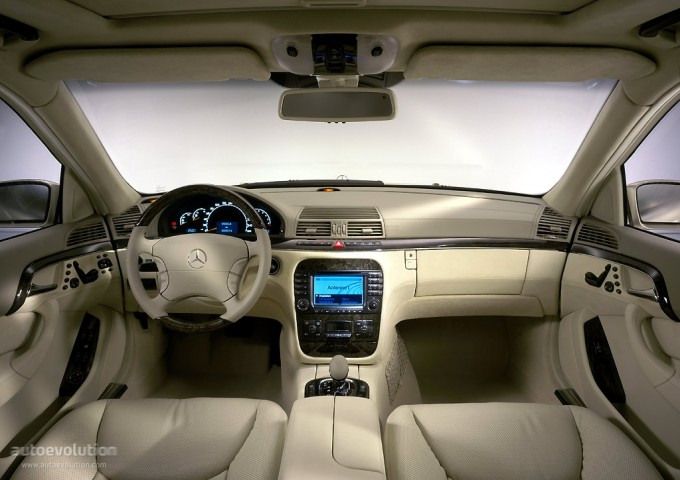 Mercedes - Benz S (2002-2005)