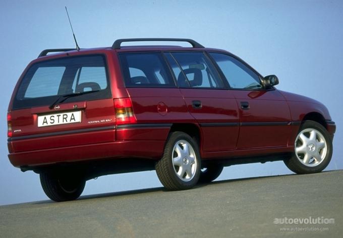 New Opel Astra Caravan. OPEL Astra Caravan