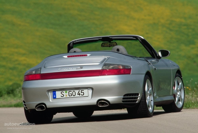 2003 Porsche 911 Carrera 4 Cabriolet. PORSCHE 911 Carrera 4S
