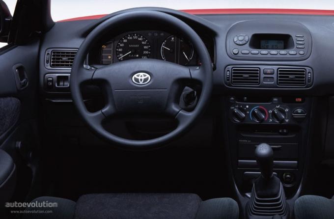Toyota Corolla 2000 Interior. TOYOTA Corolla Sedan