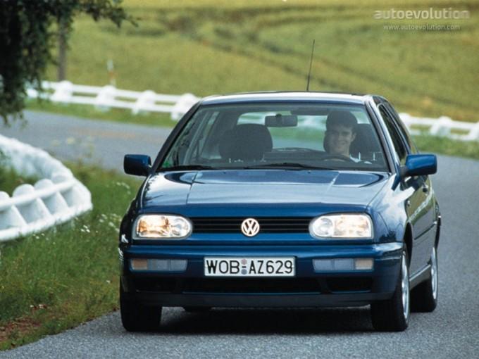 1991 Volkswagen Golf Iii. VOLKSWAGEN Golf III 3 Doors 1991 - 1997 Photo Gallery - Image 1 - autoevolution