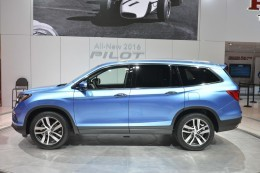 2016 Honda Pilot Is Lighter And Sexier For Chicago Auto