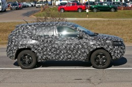 2017 Jeep  pact Cuv Spied To Replace Both Patriot And  pass Next Year Photo Gallery 101917 on jeep wrangler gets three custom new grilles from strut