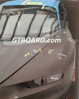 bugatti veyron successor crash test mule leaks after. Black Bedroom Furniture Sets. Home Design Ideas