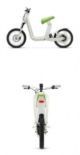 xkuty one an electric scooter as simple and stylish as it. Black Bedroom Furniture Sets. Home Design Ideas