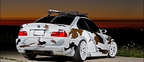 2004 BMW M3 Sports Arctic Camouflage Wrap