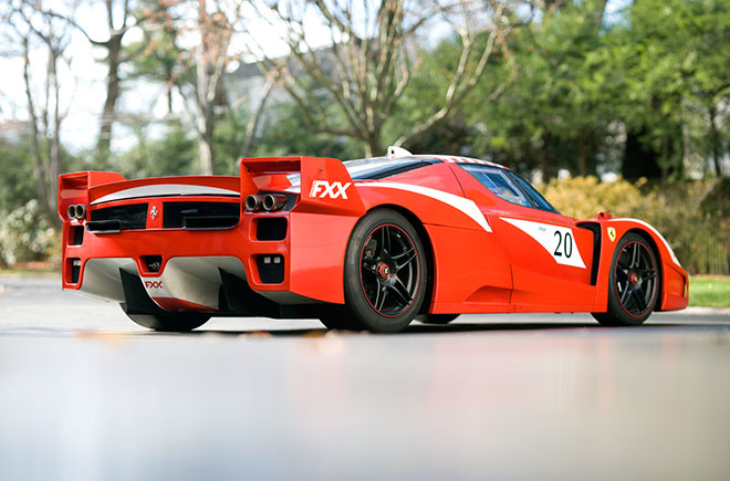 2006 Ferrari FXX Evoluzione. Photo credit: wired.com