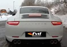 2012 Porsche 911 Brombacher Exhaust