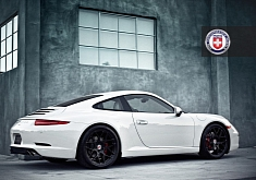 Porsche 911 on HRE Wheels