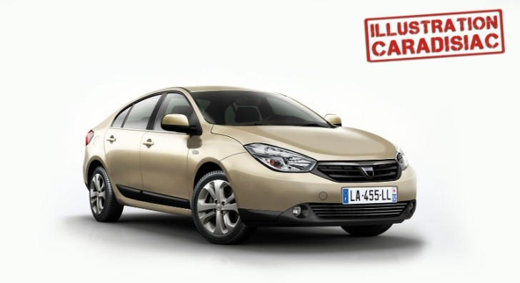 2015 DACIA Solenza Scooped and Rendered