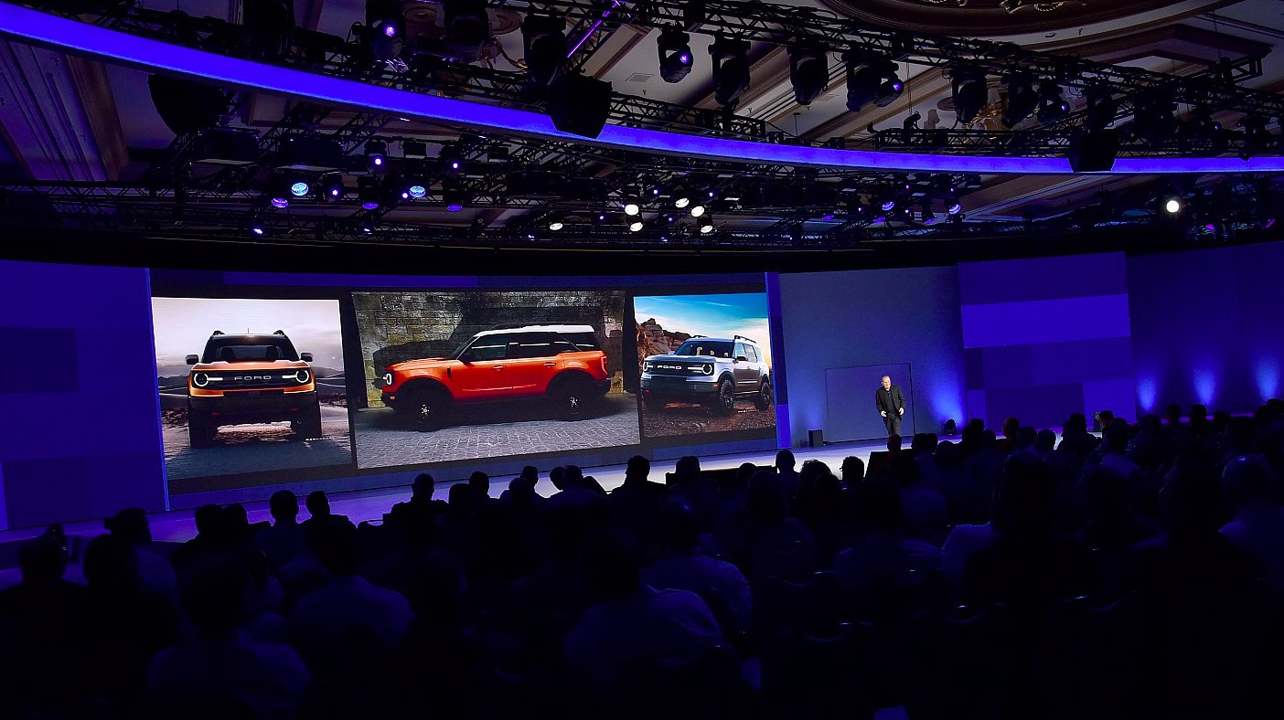 New Ford Baby Bronco Teased At Dealer Meeting - autoevolution