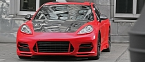 Anderson Germany Panamera Turbo Red Race Edition