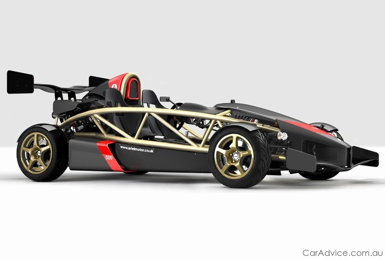 Ariel Atom Gets 3.0l 500 HP Engine. Photo credit: Pistonheads