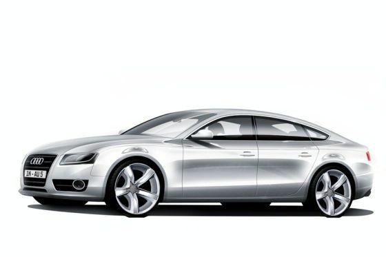 audi a7. Audi A7 sketch