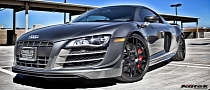 Audi R8 GT on Nutek Concave Wheels