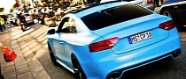 Audi RS5 in Matte Baby Blu