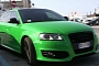 Audi S3 Sportback in Crazy Green