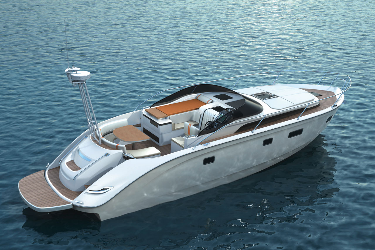 ... Blue 46, High Performance MOTORBOAT - picture 2 detail - autoevolution
