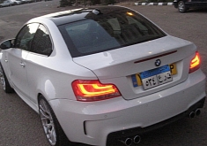 BMW 1-Series with M3 V8 engine