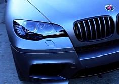 BMW X6 M Matte Grey