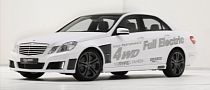 Brabus 4WD Full Electric E-Class Shocks