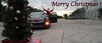 Santa Claus Drifting Video