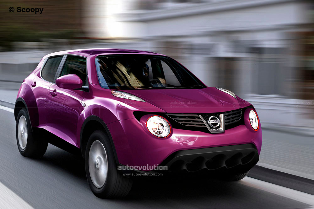 CGI: 2011 Nissan Juke Crossover. Photo credit: Scoopy