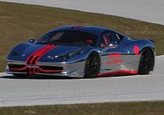 Chrome Ferrari 458 Challenge
