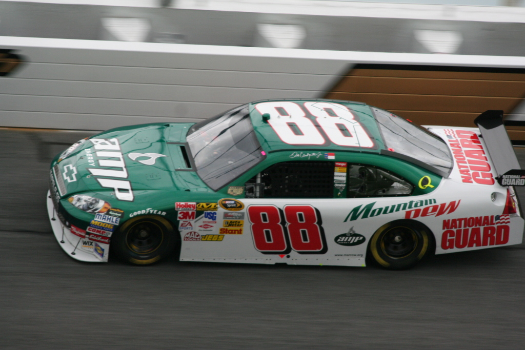 DALE Earnhardt Jr. - DALE Earnhardt Jr Takes Pole Position in the 2011 ...