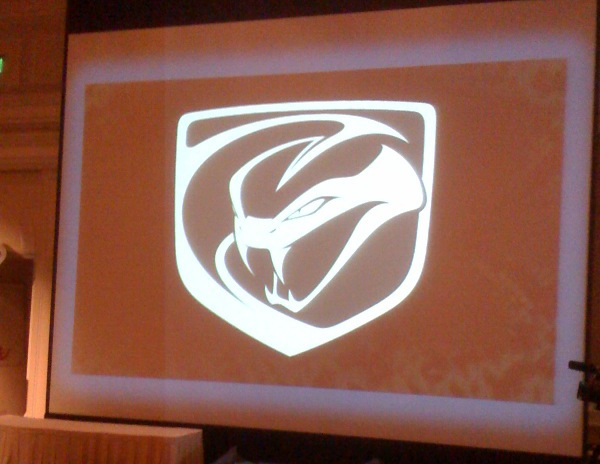 dodge viper logo. New Dodge Viper logo