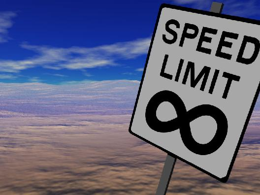 Speed limits are hard to be respected