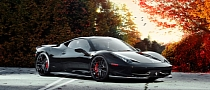 Ferrari 458 Italia on Pur Wheels