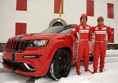 Jeep Grand Cherokee SRT8 by Ferrari