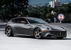 Ferrari FF on HRE Wheel
