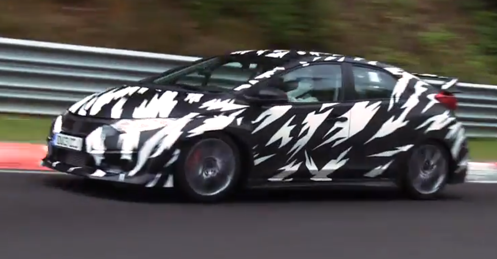first video of 300 hp honda civic type r video. Black Bedroom Furniture Sets. Home Design Ideas