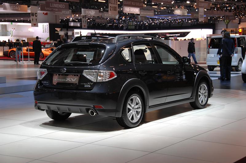 2010 Geneva Auto Show Subaru Impreza XV