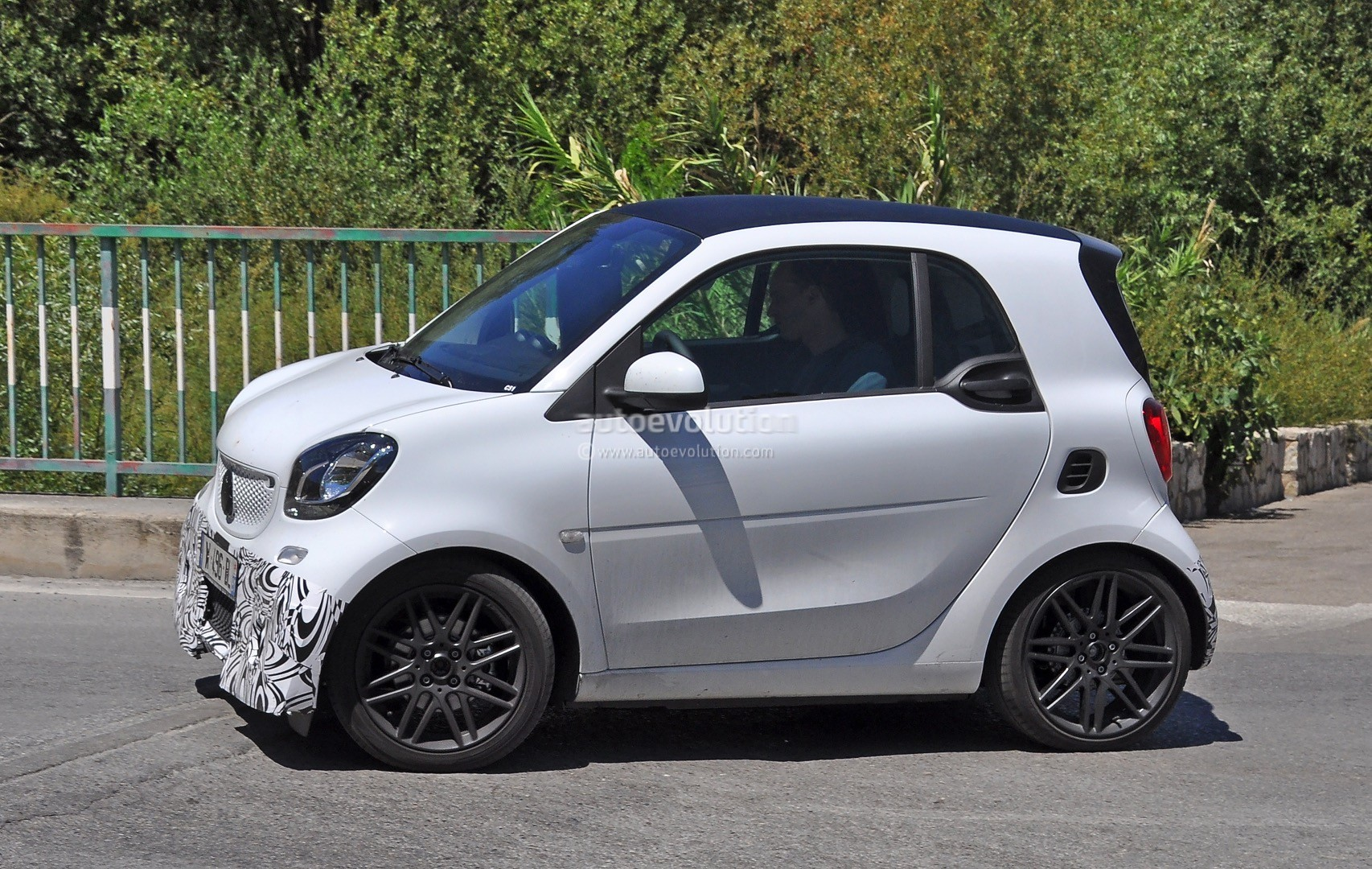 Excellent 2016 Smart ForTwo Brabus Spotted In Production Guise  Photo Gallery