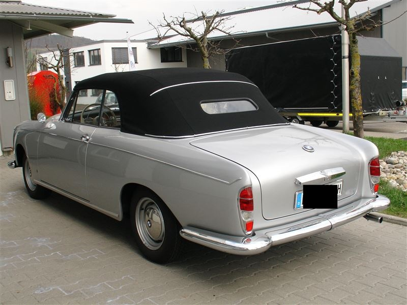 330 000 1958 Bmw 502 Convertible Up For Sale In Germany