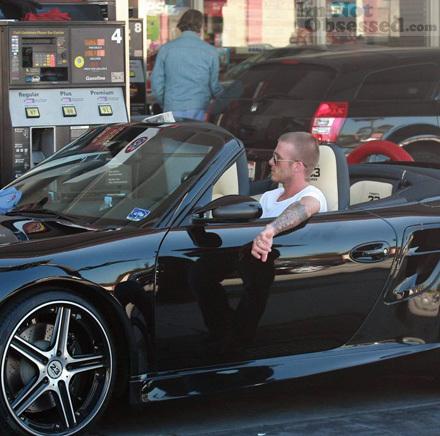 kakibola  Kereta David Beckham