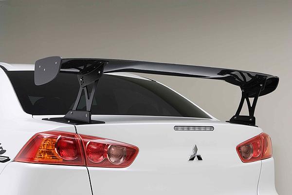 Tuned Mitsubishi Lancer Evo X