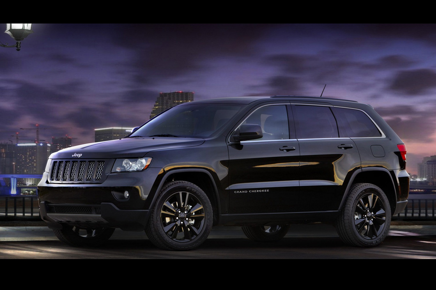 holy stealth black jeep grand cherokee. Black Bedroom Furniture Sets. Home Design Ideas