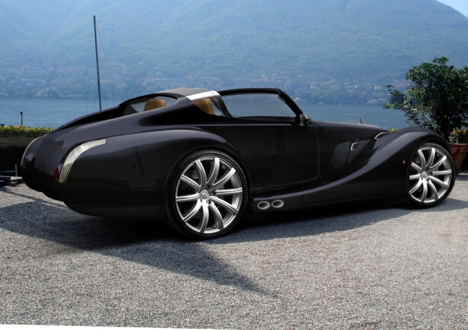 morgan aero concept car